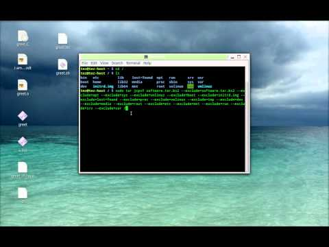 Easy way to backup and restore Linux/Unix machines (using Linux Mint 13)