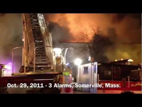 Somerville, MA - 3 Alarms On Broadway