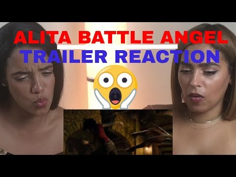 Alita Battle Angel Trailer #2 REACTION!!!