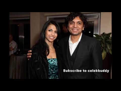 M.Night Shyamalan with His Beautiful wife Bhavna Vaswani And Lovely Daughter's Album....How Cute!