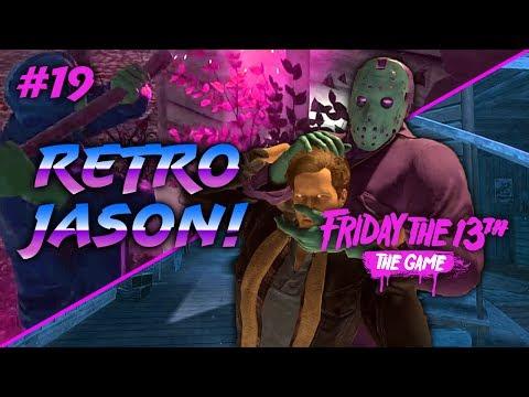 Retro Jason! NEW DLC (Friday the 13th: The Game #19) Ft. Mini, Delirious, Ohm, and Nogla