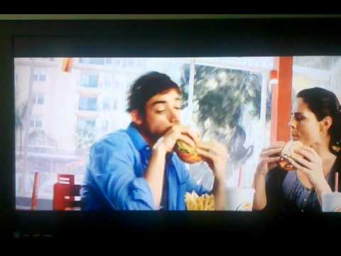 Transformers DOTM Burger King commercial featuring Optimus Prime and Shockwave