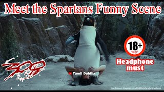 Meet The Spartans Funny Scene in Tamil | Tamil Dubflix