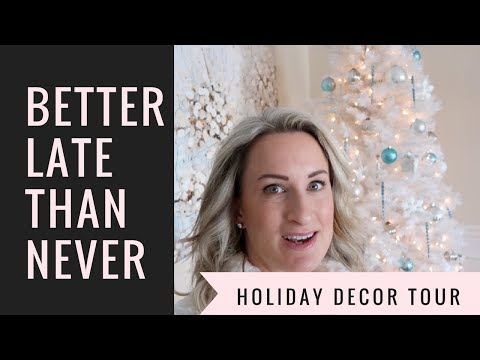 Christmas Tree Tour 2017 | Holiday Decorating