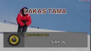 SIAKOL - LAKAS TAMA (#5495) VIDEOKE KARAOKE PLATINUM PIANO SD-40
