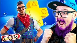 I GOT THE NEW PS4 EXCLUSIVE SKIN-FORTNITE