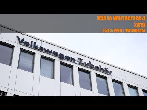 USA to Worthersee Part 2: VW R / VW Zubehor GTG