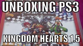 Unboxing Kingdom Hearts -HD 1.5 ReMIX- (PS3 Essentials)