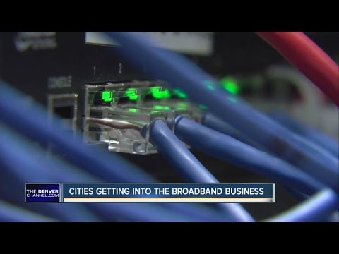 Cities getting into the broadband business