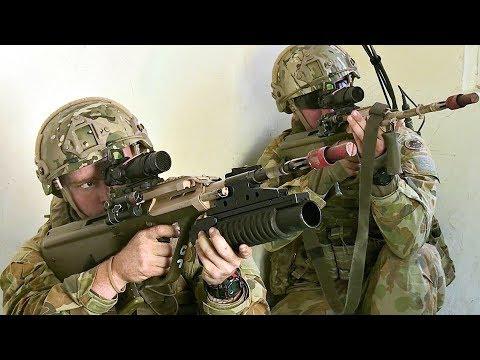 Australian Vs US Marines In Urban Warfare Training