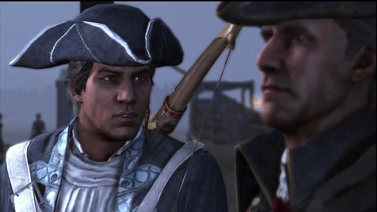 Connor And Haytham Fanfiction Assassin's Creed III -...