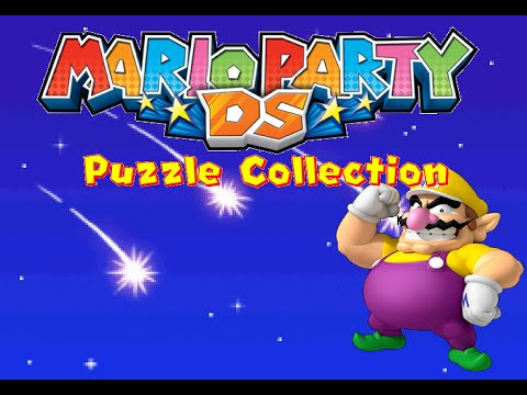 Let's Play Mario Party DS - Puzzle Mode - Puzzle Collection