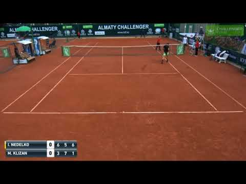 What A Way To Save A Match Point By Martin Klizan