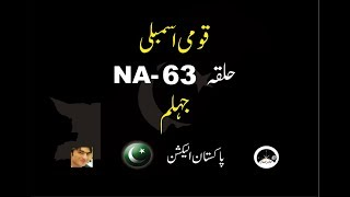 National Assembly NA 63 Old (NA 67 new) Jhelum II results & Full information