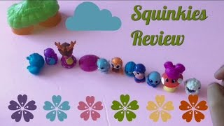 SQUINKIES TOY REVIEW--- By Andrea