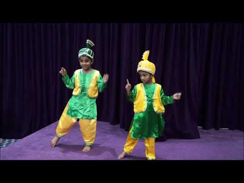 Punjabi Dance by Hezekia & Ezra, Carol Service 2017, Word of God Church, Doha Qatar