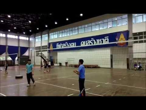 การฝึกทักษะการตบวอลเลย์บอล 3 ขั้น