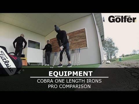 Cobra One Length Irons Review - Big hitter comparison test