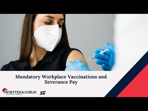 Mandatory Workplace Vaccinations and Severance Pay - Daniel Lublin with CP24