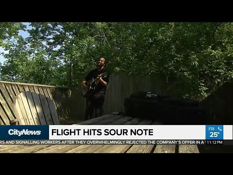 Air Canada Strikes A Sour Note With Musician
