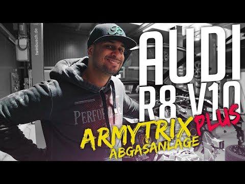 JP Performance - Audi R8 V10 Plus | Armytrix Abgasanlage