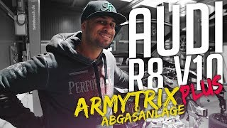 JP Performance - Audi R8 V10 Plus | Armytrix Abgasanlage