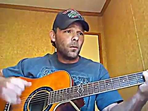 Floating On My Shithouse Door... Original Acoustic Guitar Funny Folk Song