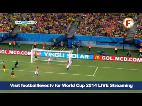 0-2 goal by Ivan Perisic Cameroon VS Croatia - World Cup 2014