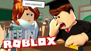 OUR FIRST DAY OF SCHOOL | LIFE IN | ROBLOX ROLEPLAY SPANISH | EP. 5