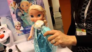 NEW Elsa Sing-Along Frozen doll sings Let It Go from Jakks Pacific at Toy Fair 2015