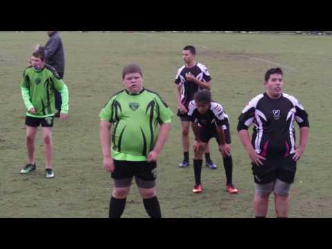 Okapi Wanderers Rugby FC U14 vs. Wellington Wizards  01/29/17 at Wellington