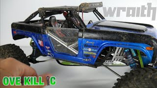 Inside my Axial Wraith Ford Bronco 4x4x4 | Overkill RC Overview | 2018 | Overkill RC