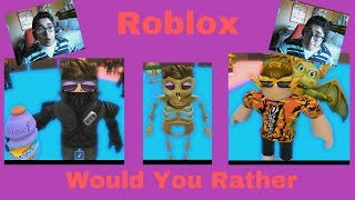 Soo Many Options! - Roblox Would You Rather - January 14th, 2019