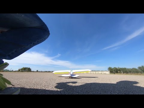 Фото Cinematic FPV drone chasing RC Airplane
