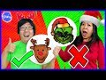 CHRISTMAS PANCAKE ART CHALLENGE! Learn How To Do DIY Pancake Art