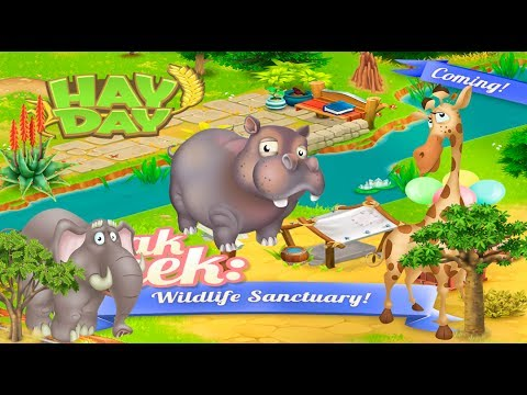 Hay Day - June Update 2017 - We Love Sneak Peeks - Animals & Decoration