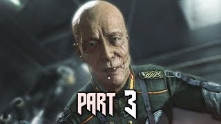 Wolfenstein The New Order Gameplay Walkthrough Part 3 - Asylum (PS4)
