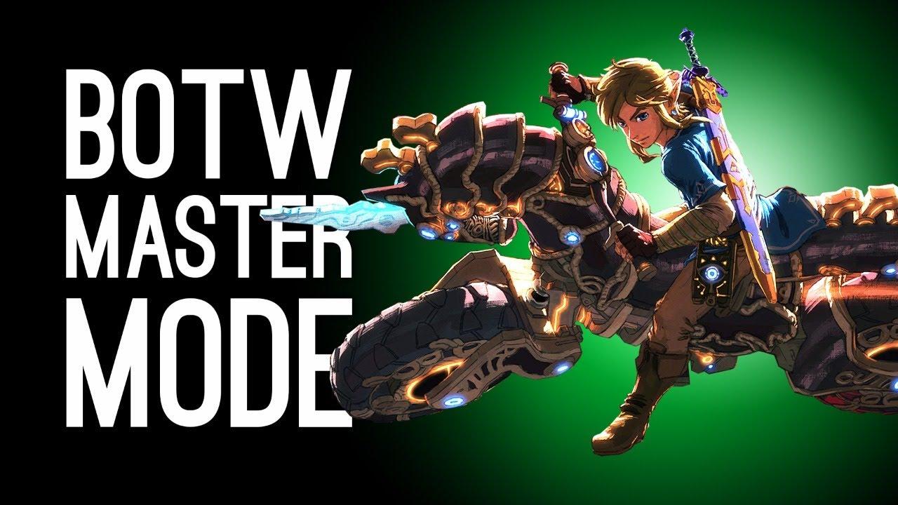 Breath of the Wild Master Mode Gameplay: Champions' Ballad DLC in BOTW Hard Mode!
