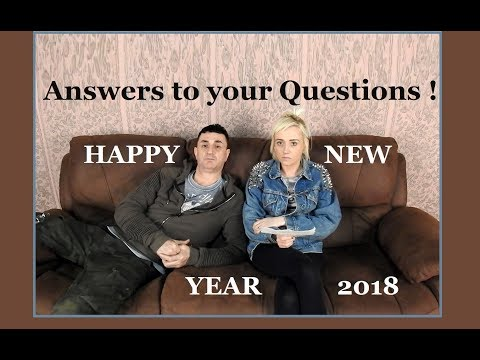 Answering your Questions & HAPPY NEW YEAR - Q&A's - Not Vanlife Yet !