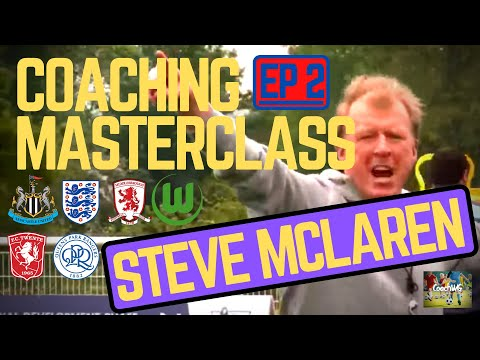 Coaching Masterclass EP 2 - Steve McClaren