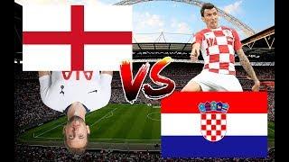 England VS Croatia full game and highlights - National League 2018