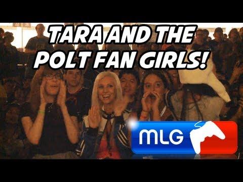 CRAZY POLT FAN GIRLS AT MLG ANAHEIM!