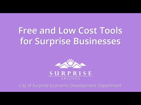 Free and Low Cost Tools for Businesses video thumbnail