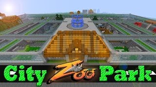 Minecraft City Zoo Park