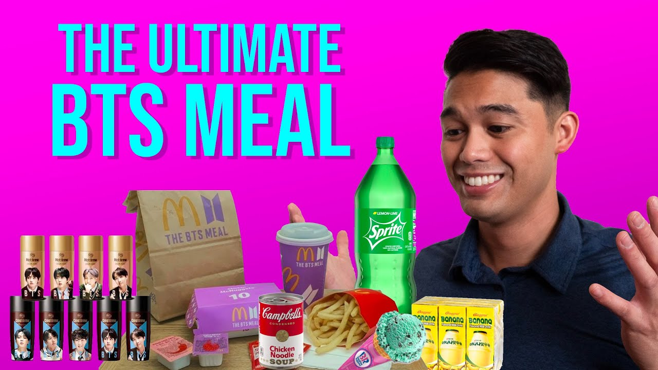We Made the Best BTS MEAL Ever Created!