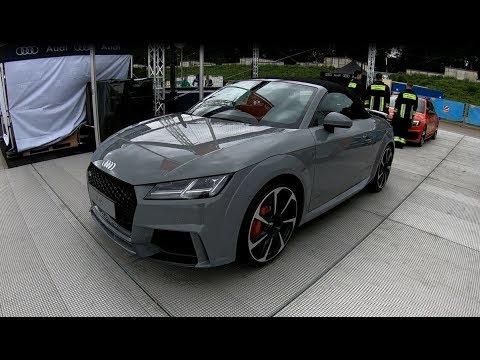 Audi Tt Rs Quattro Roadster Stronic New Model 2018 Nardo Grey Cabriolet Walkaround