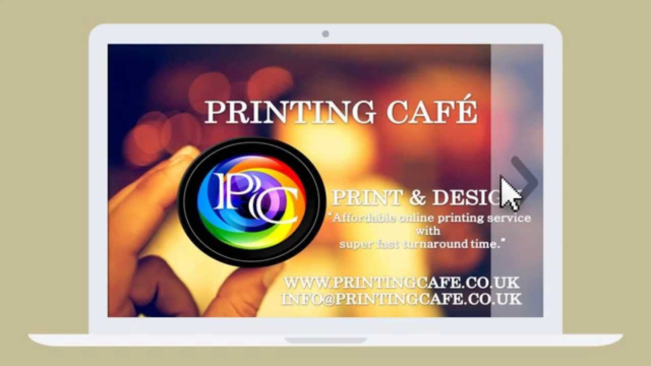 Spot UV Business Cards from Printing cafe - YouTube