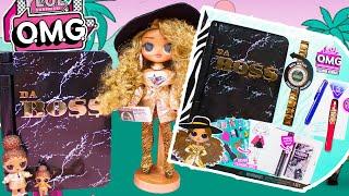LOL Surprise OMG Doll Da Boss Fashion Journal Unboxing