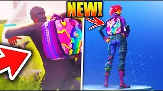 "Comment débloquer 'NEW' ""Bright Bag"" SECRET UNLOCK CHALLENGE! dans Fortnite Battle Royale!"