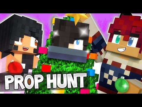 Zane's Favorite Holiday || MINECRAFT PROP HUNT